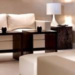 Décoration et rénovation appartement Bourg Saint Maurice avec ameublement canapé et mobilier par CRIS BTP