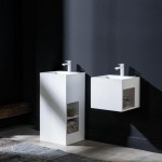 lavabo résine cube CRIS BTP