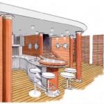 plan bar décorateur intérieur en Savoie