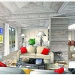 plan architecte intérieur avec la déco et la mobilier en Savoie