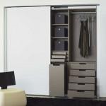 armoire dressing avec rangements corbeille