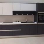cuisine noire et blanche