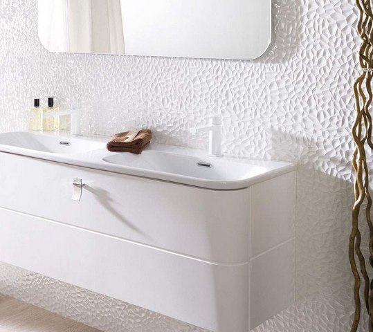 Carrelage blanc relief 28 images quand le carrelage for Carrelage salle de bain blanc relief
