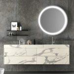 meuble salle de bain vasque granit Chris Déco