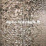 vente faïence grand format motif 3 D métal CRIS BTP deco-travaux Savoie