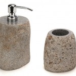 distributeur savon pierre