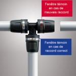 tube multicouche avec raccord à sertir manuel CRIS BTP